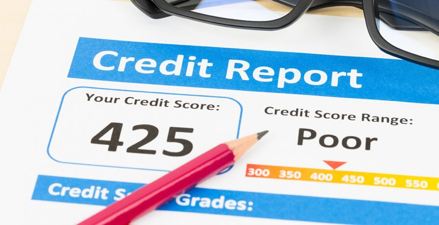Four Things that Could Be Damaging Your Credit Score